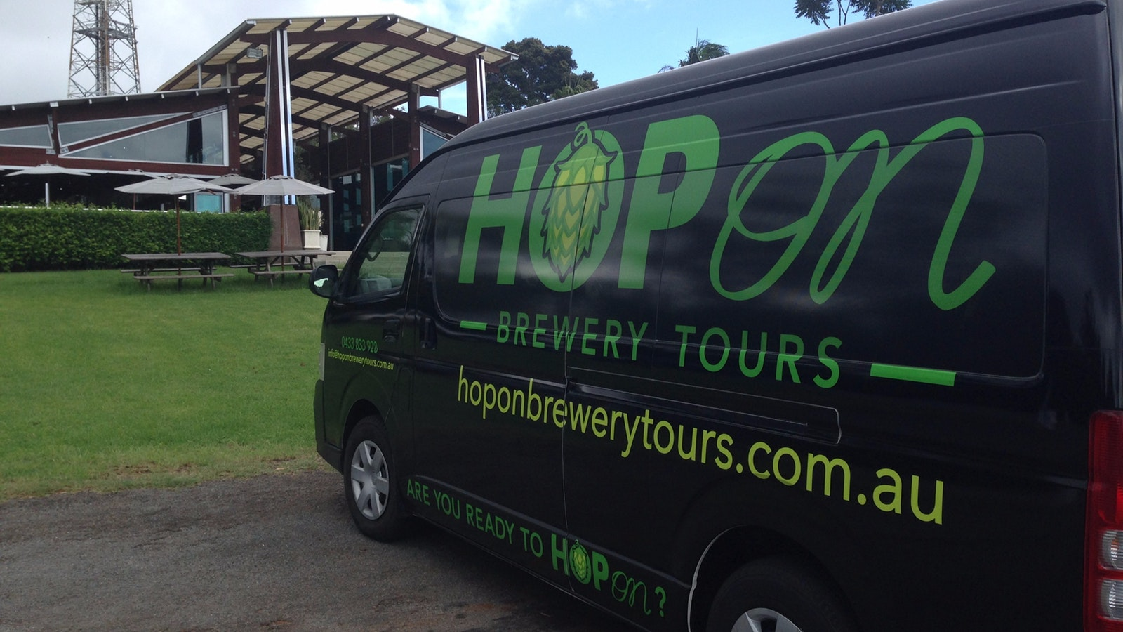 Hop On Brewery Tours visits Fortitude Brewing