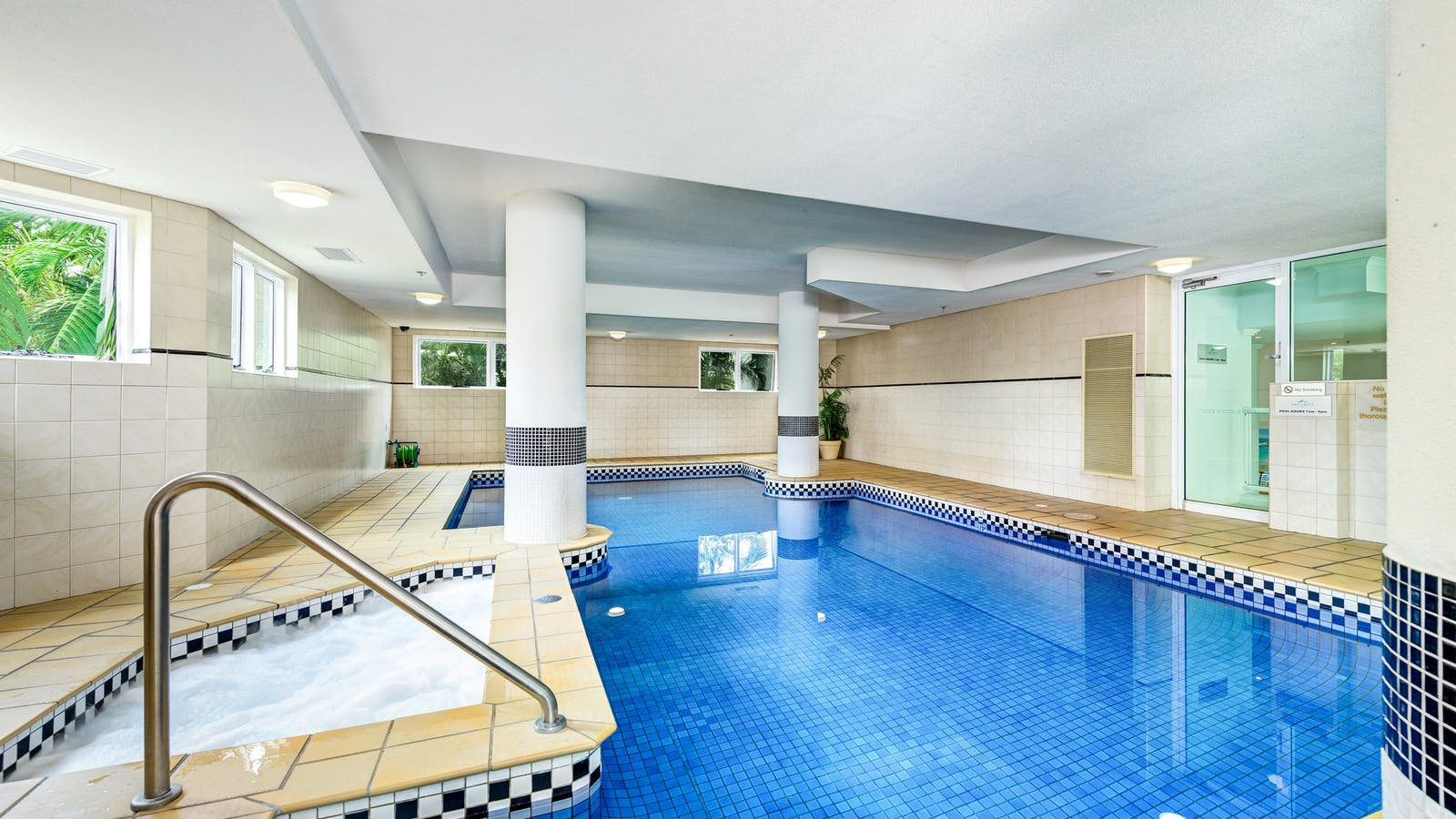 Heated Indoor Pool and Spa