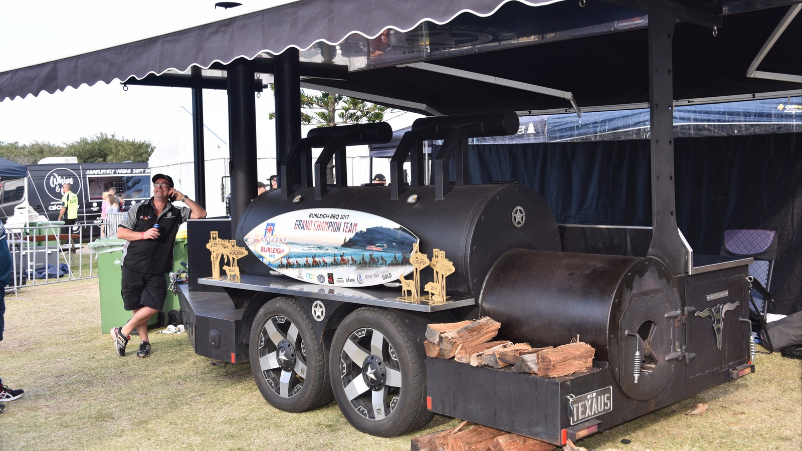One of Australia's best competition barbecue setups