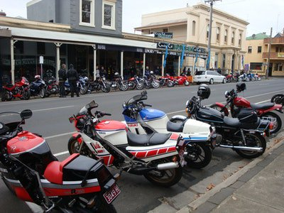 Vintage Japanese Motorcycle Club of Australia National Rally Show and Shine