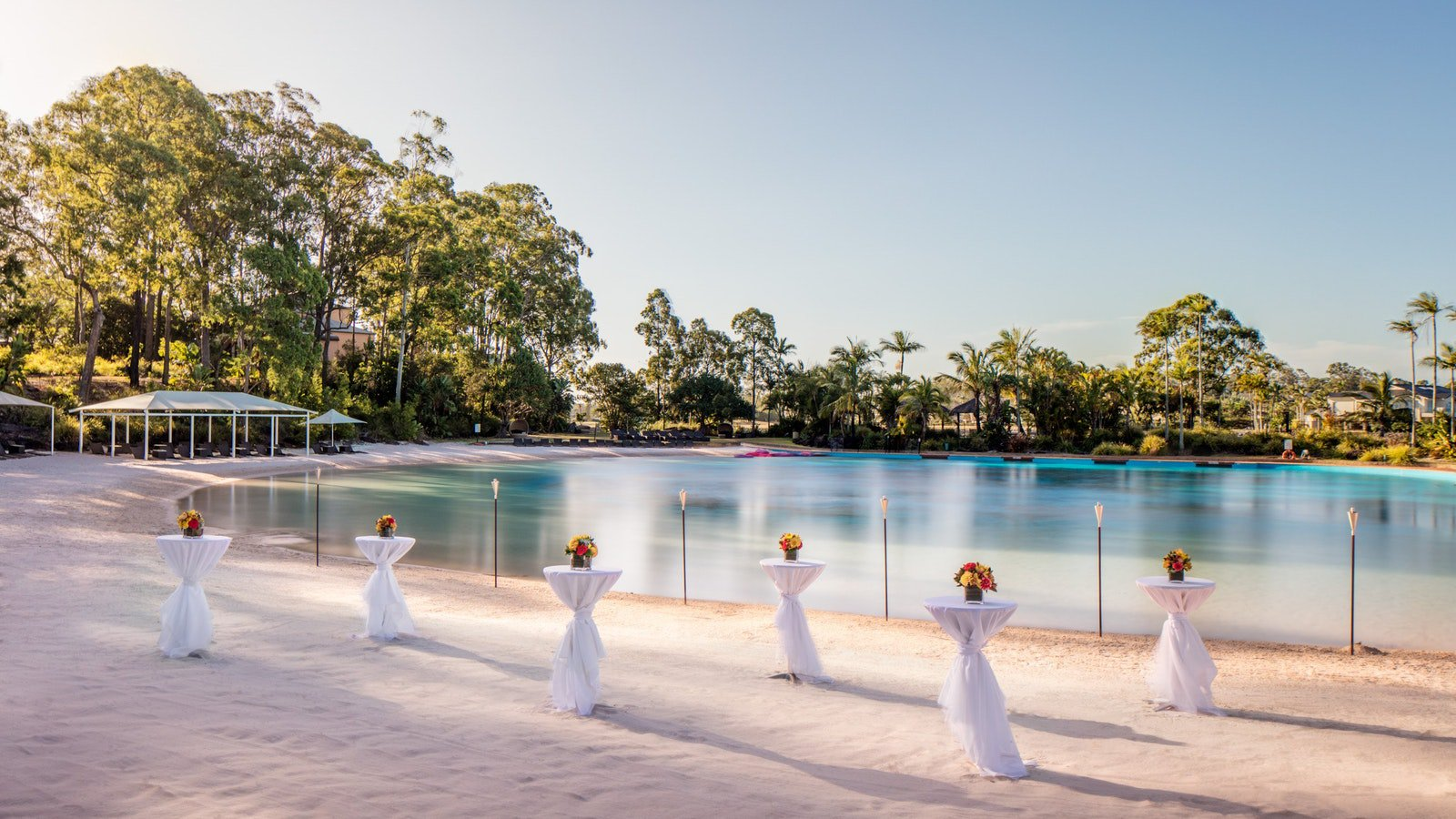 Lagoon Beach, Meetings and Events