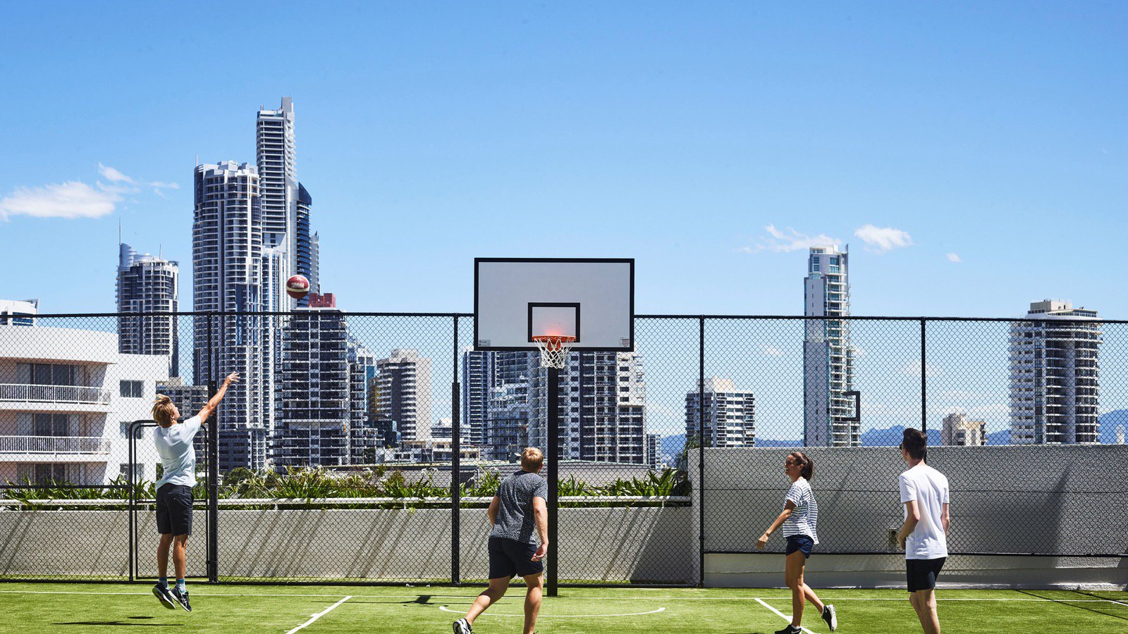 Basketball, Sports Courts