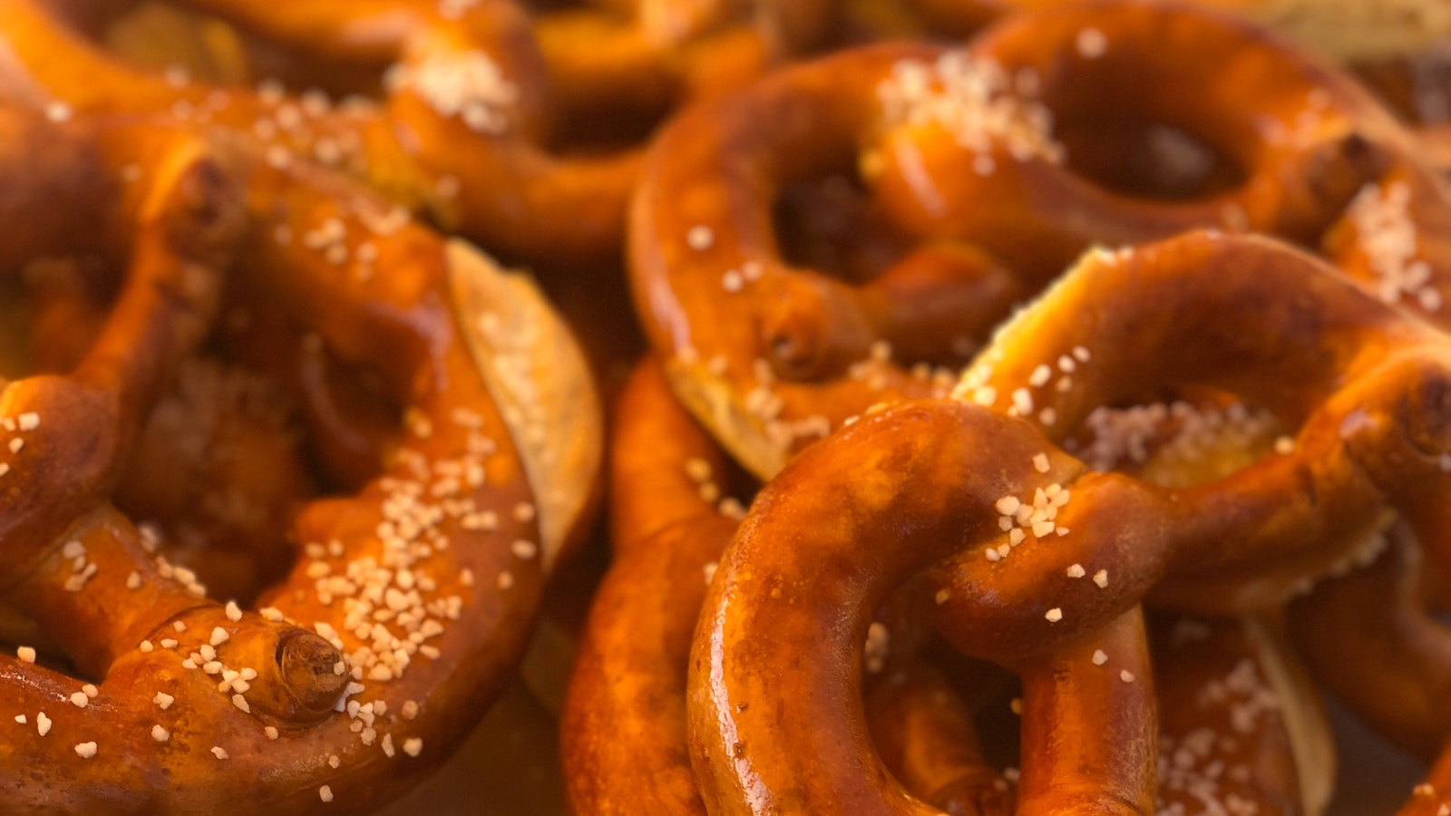 fresh pretzels are always coming out of the oven  onsite  on Sundays.