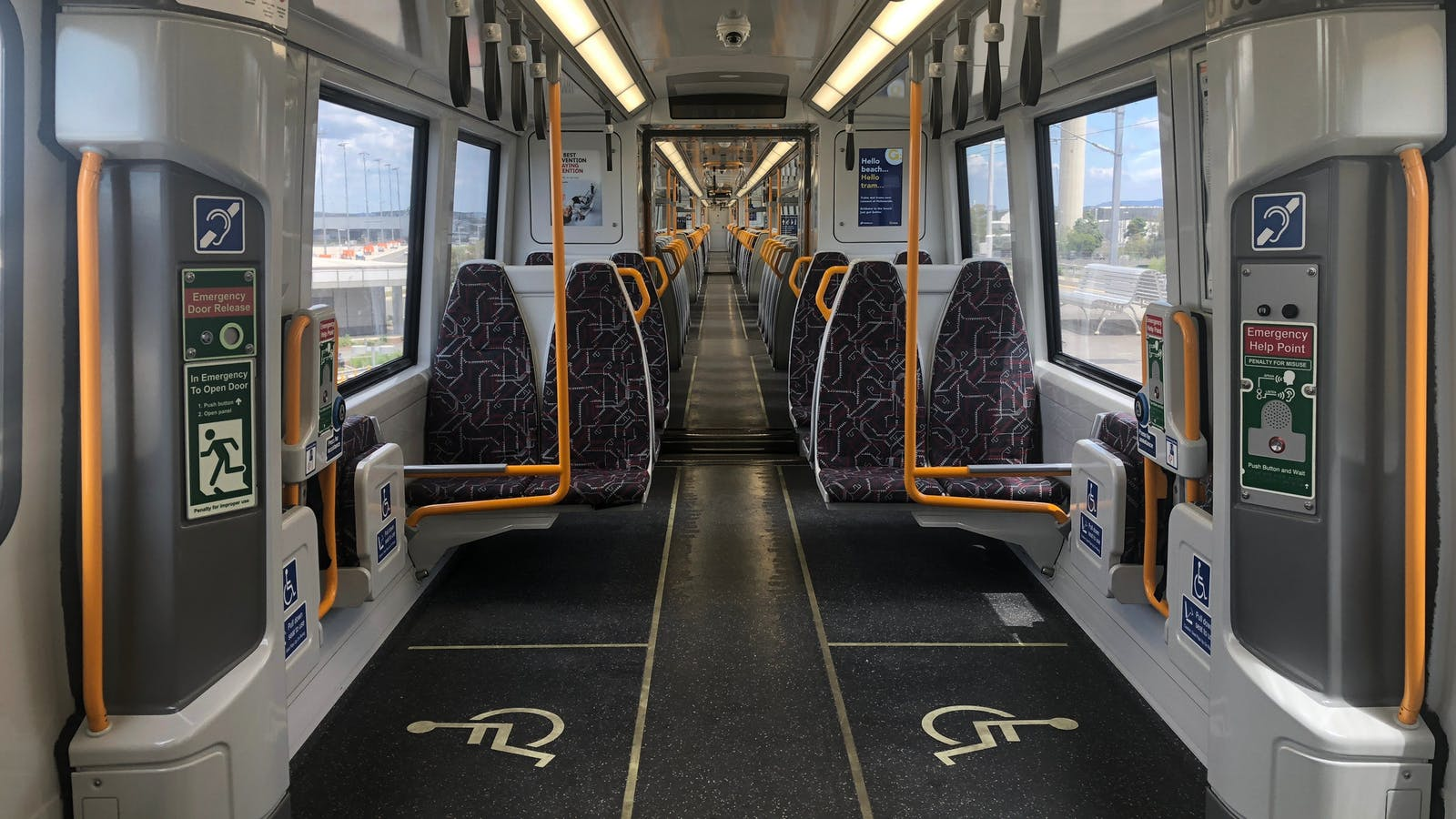 Disability access on trains