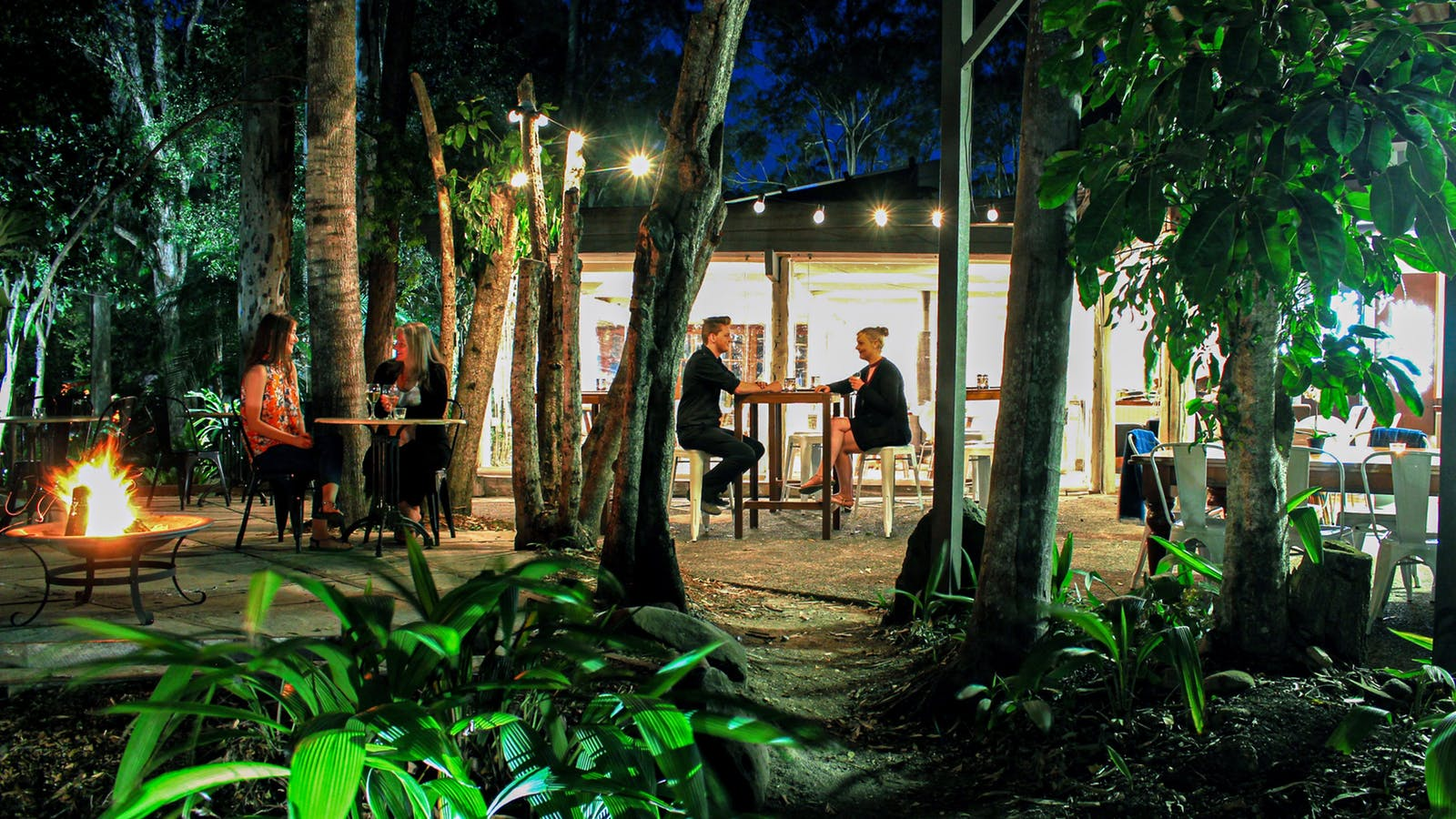 Rainforest Restaurant - Outdoor Evening