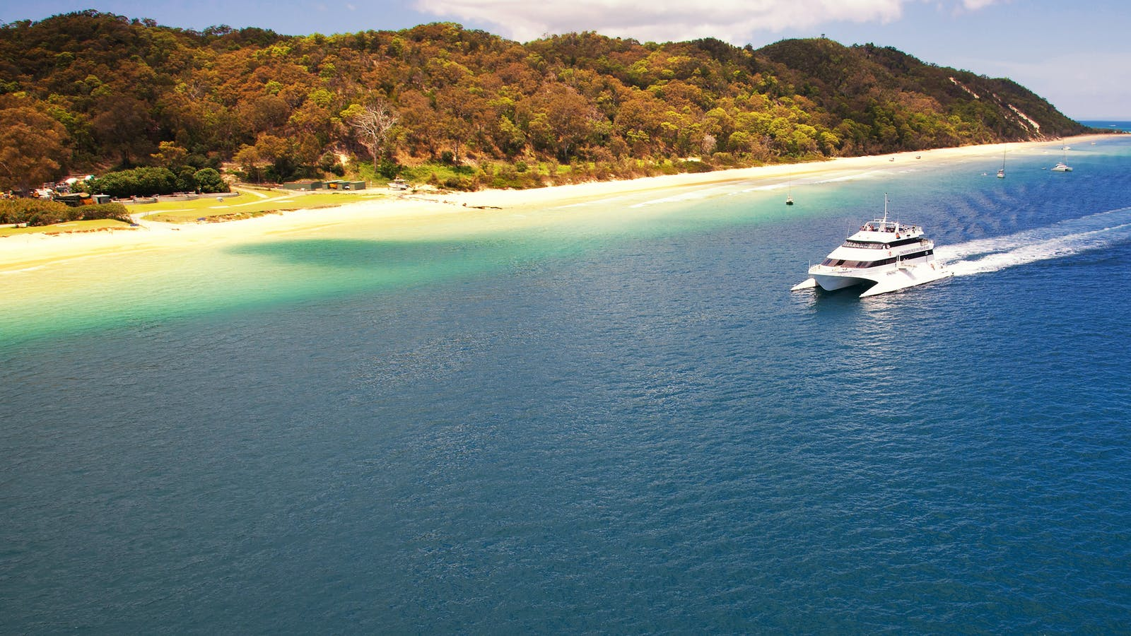 Tangalooma Boat Transfers from Brisbane - 4 Times Daily