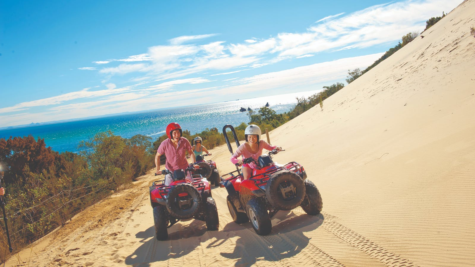 ATV Quad Bikes at Tangalooma