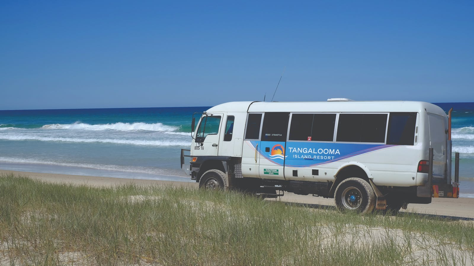 4WD Bus Tours of Moreton Island