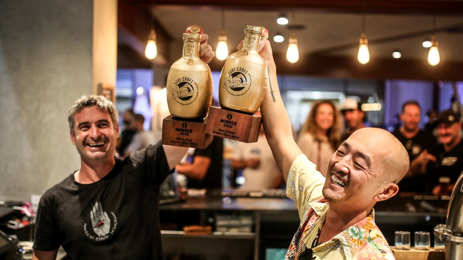 Surf:Craft Golden Growlers