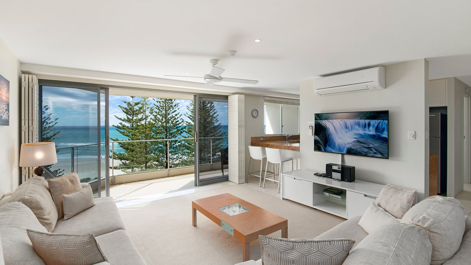 Ocean View Air Con Two Bedroom Superior Apartment