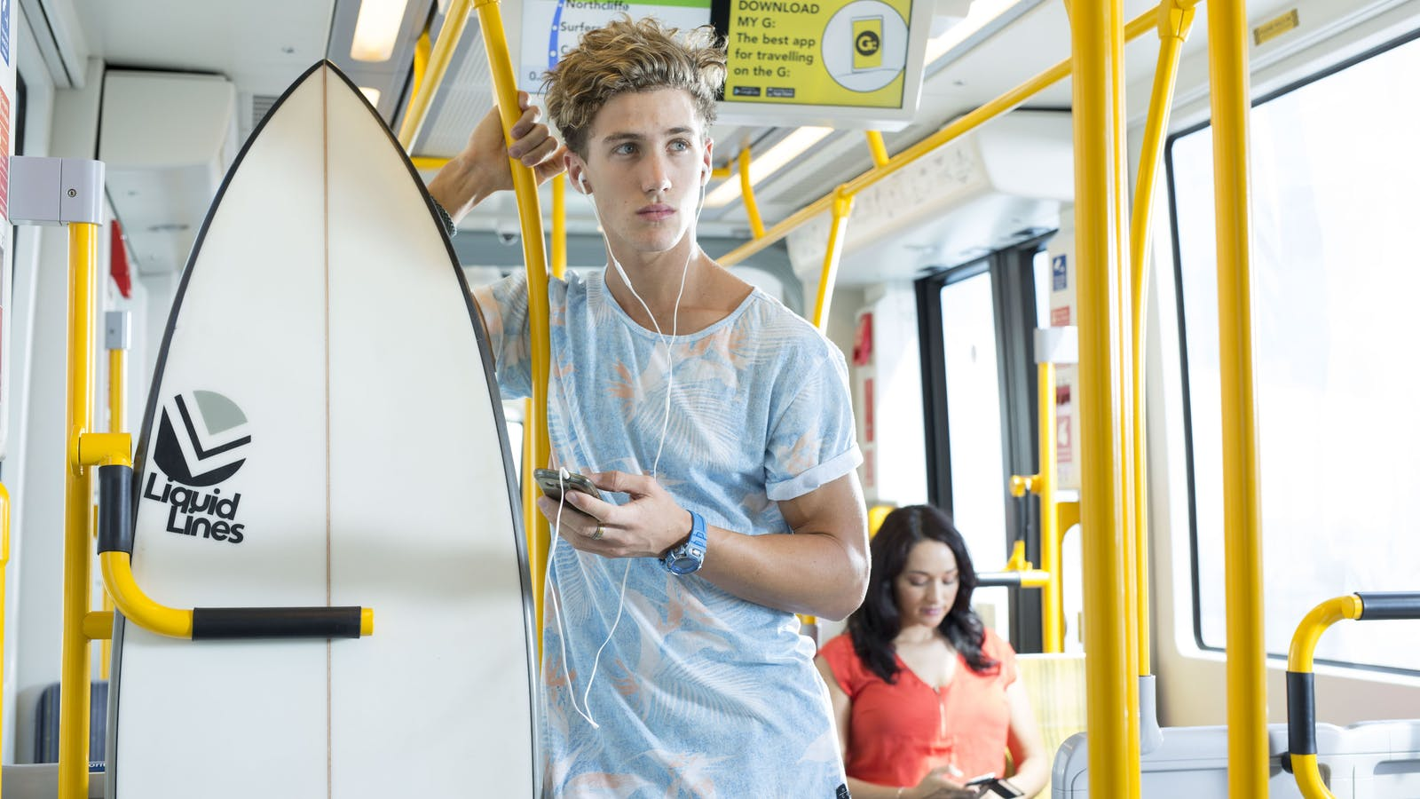 Gold Coast tram and bus travel