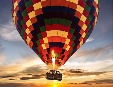 Air, Helicopter and Balloon Tours