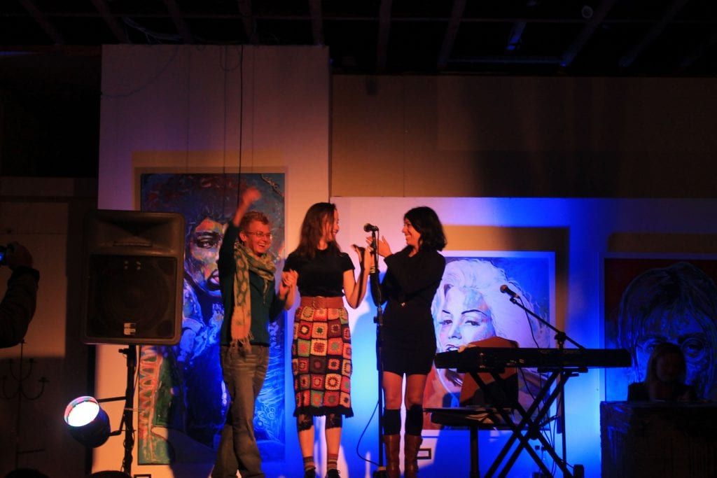 Poetry Slam at Dust Temple. Image: Samantha Morris.
