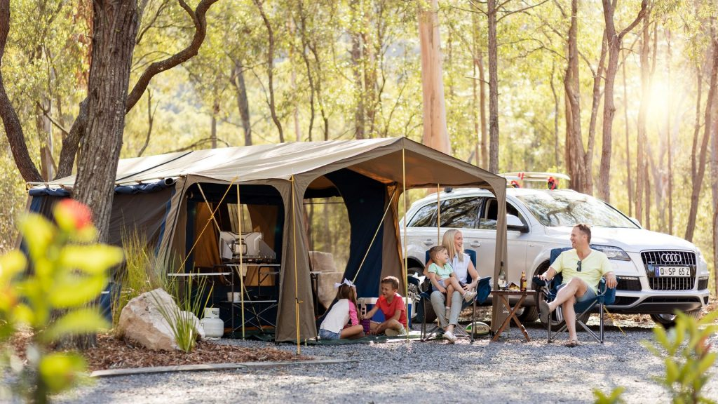 farm stay camping
